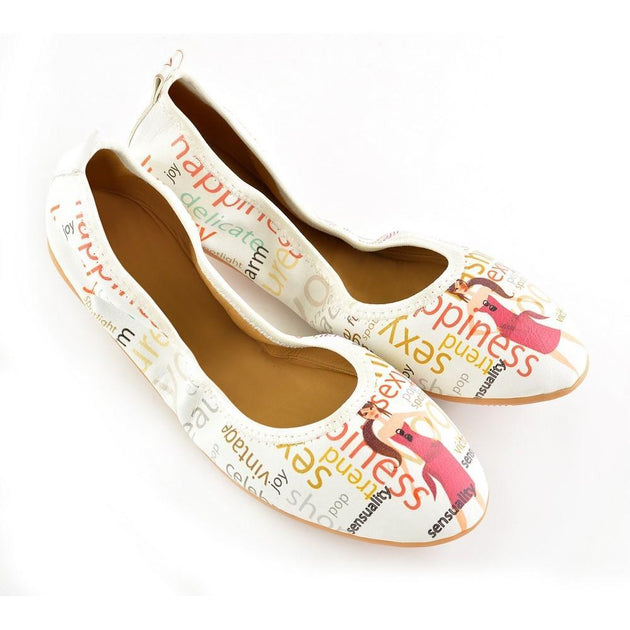 Magazine Ballerinas Shoes RSP106