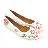 Cute Owl Ballerinas Shoes RSP109