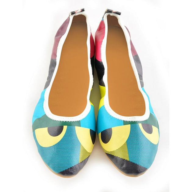 Pattern Ballerinas Shoes RSP327