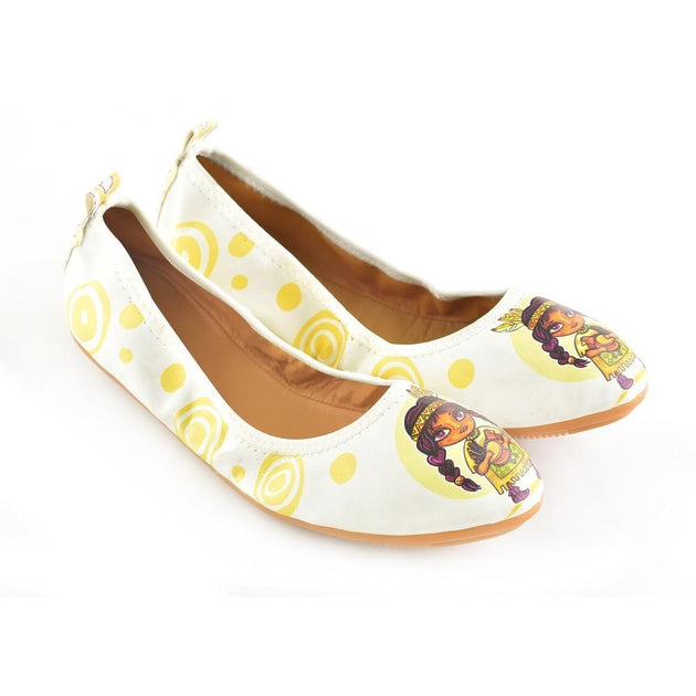 Indian Girl Ballerinas Shoes RSP333