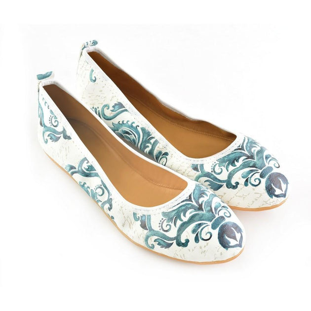 Pattern Ballerinas Shoes RSP336