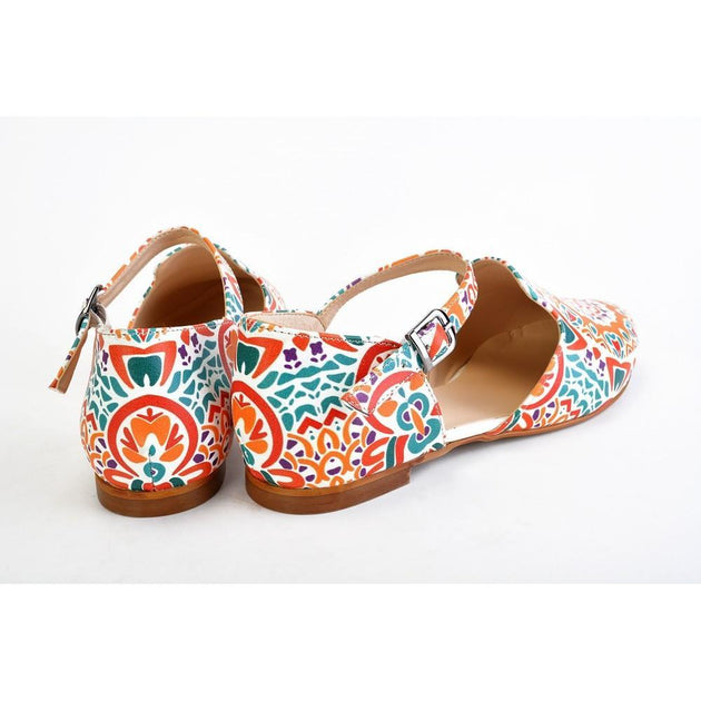 Ballerinas Shoes RYB105, Goby, RASPBERRY Ballerinas Shoes