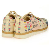 Goby SHR102 Free Spirit Women Sneakers Shoes - Goby Shoes UK
