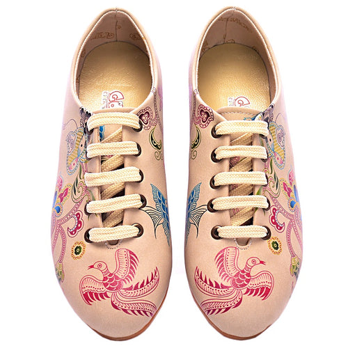 Goby SLV15 Wings Women Oxford Shoes - Goby Shoes UK