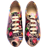 Goby SLV22 Colored Hearts Women Ballerinas Shoes - Goby Shoes UK