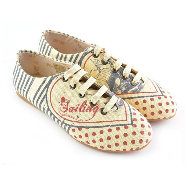 Sailing Ballerinas Shoes SLV036