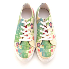 Goby SPR5406 Flowers Women Sneakers Shoes - Goby Shoes UK