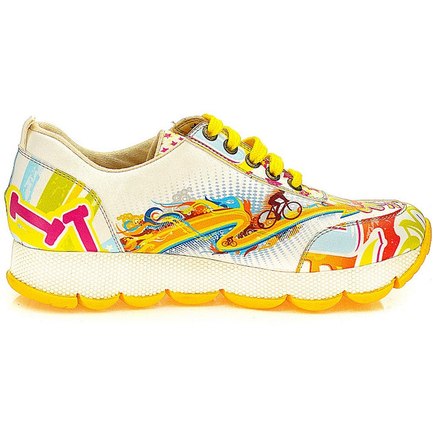 Goby SPS101 Life is Women Sneakers Shoes - Goby Shoes UK