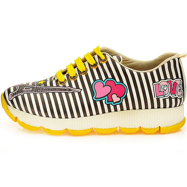 Goby SPS201 Chic Clam Women Sneakers Shoes - Goby Shoes UK