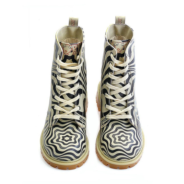 Pattern Long Boots TMB1018