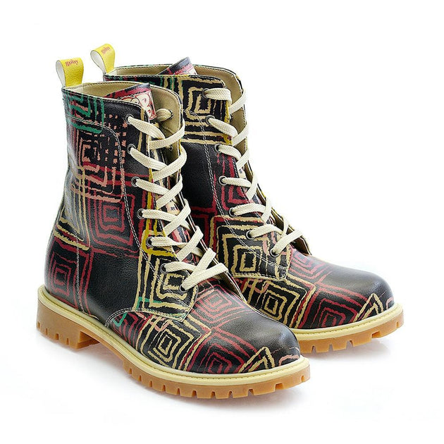 Pattern Long Boots TMB1024