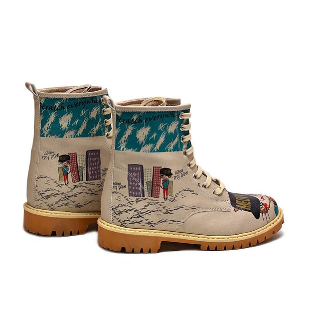 GOBY Cool Cat Long Boots TMB1028 Women Long Boots Shoes - Goby Shoes UK