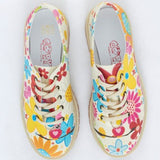 Goby TMK5505 Flowers Women Oxford Shoes - Goby Shoes UK