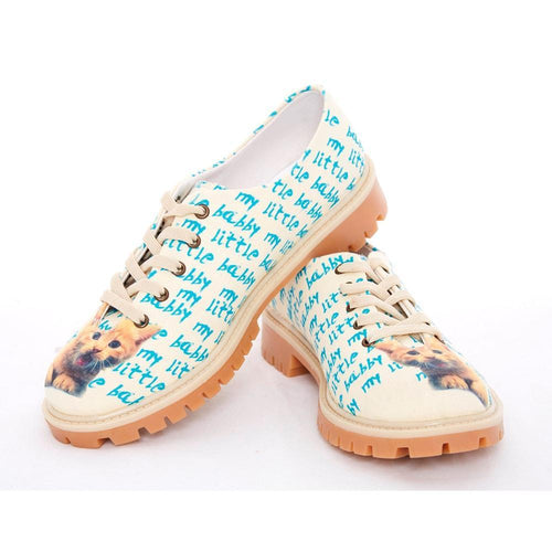 GOBY Little Cat Oxford Shoes TMK5506 Women Oxford Shoes - Goby Shoes UK