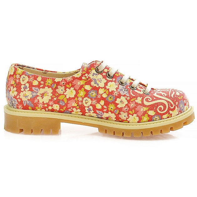 Goby TMK5512 Hello Spring Women Oxford Shoes - Goby Shoes UK