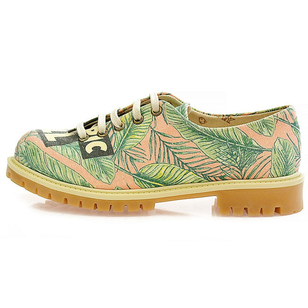 Goby TMK5513 Tropic Women Oxford Shoes - Goby Shoes UK