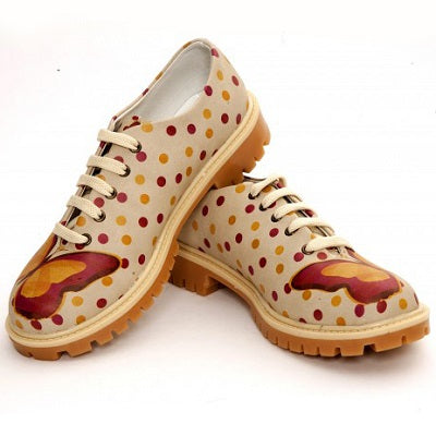 Goby TMK6507 Butterfly Women Oxford Shoes - Goby Shoes UK
