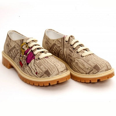 Goby TMK6510 Street Women Oxford Shoes - Goby Shoes UK