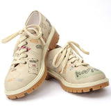 Goby TMK6514 Holiday Women Oxford Shoes - Goby Shoes UK