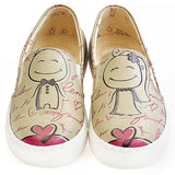 Goby VN4007 Married Couple Women Sneakers Shoes - Goby Shoes UK
