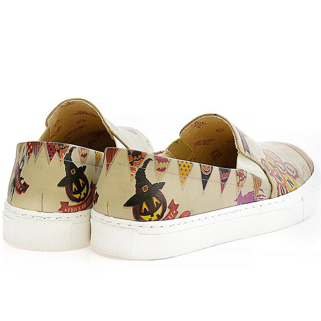 Goby VN4009 Halloween Women Sneakers Shoes - Goby Shoes UK