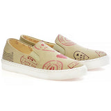 Goby VN4021 I Love You Women Sneakers Shoes - Goby Shoes UK