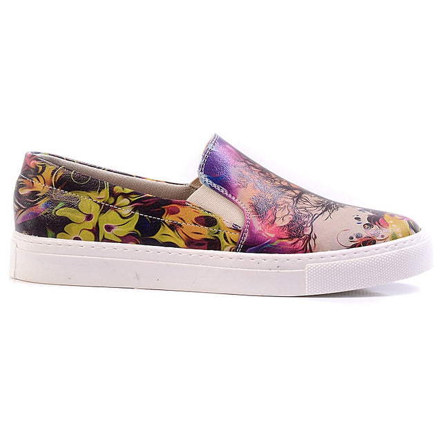 Goby VN4024 Art Women Sneakers Shoes - Goby Shoes UK
