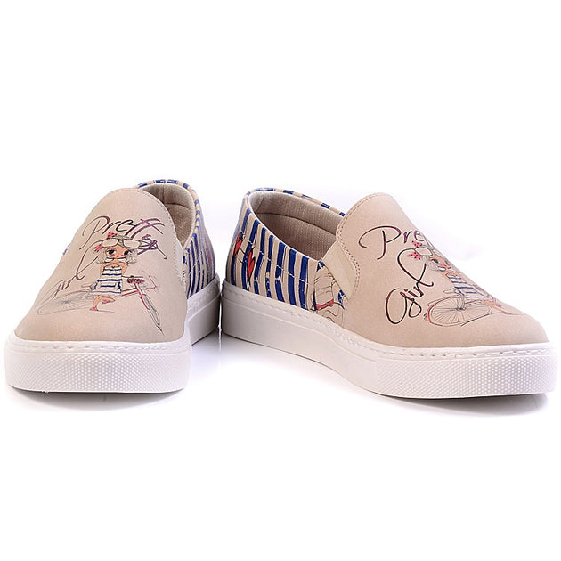 Goby VN4025 Pretty Women Sneakers Shoes - Goby Shoes UK