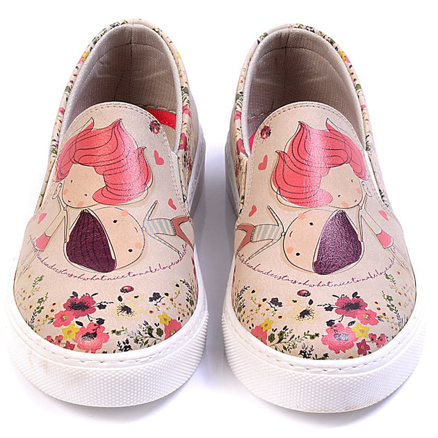 Goby VN4026 Cute Couple Women Sneakers Shoes - Goby Shoes UK