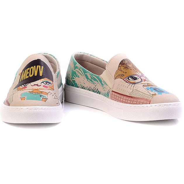 Goby VN4027 Follow My Paw Women Sneakers Shoes - Goby Shoes UK