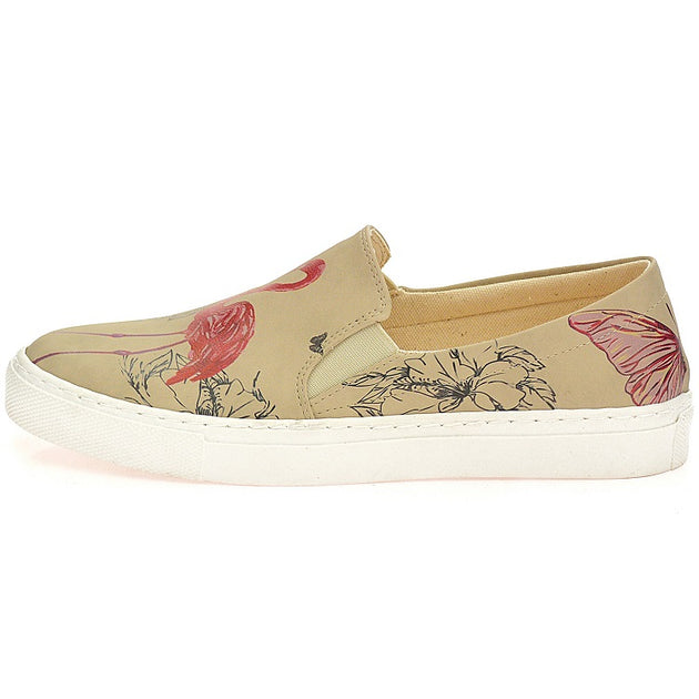 Goby VN4030 Flamingo Women Sneakers Shoes - Goby Shoes UK