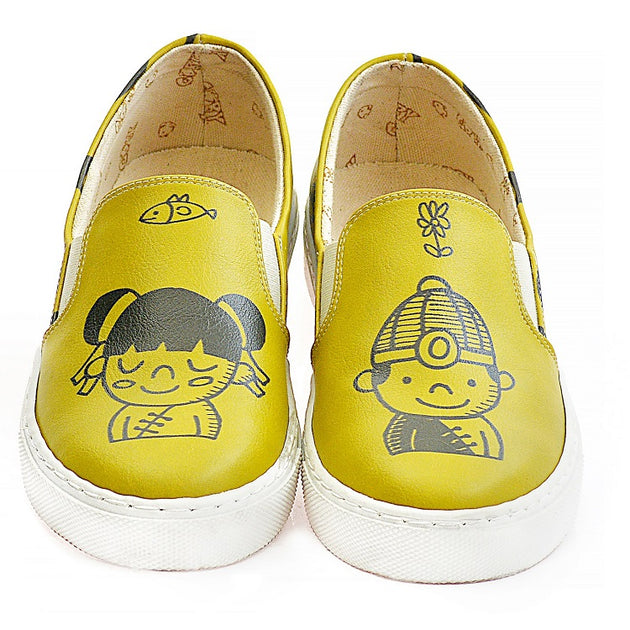 Goby VN4037 Cute Girl and Boy Women Sneakers Shoes - Goby Shoes UK