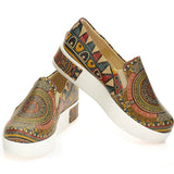 Goby VN4202 Pattern Women Sneakers Shoes - Goby Shoes UK