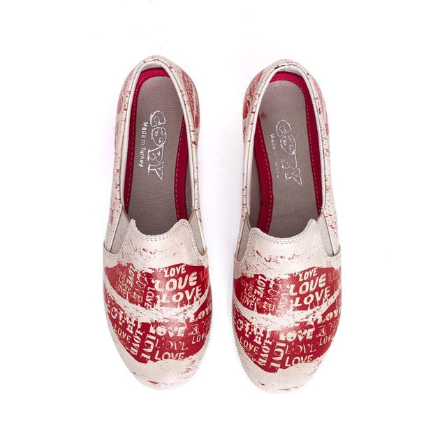 Love Slip on Sneakers Shoes VN4207