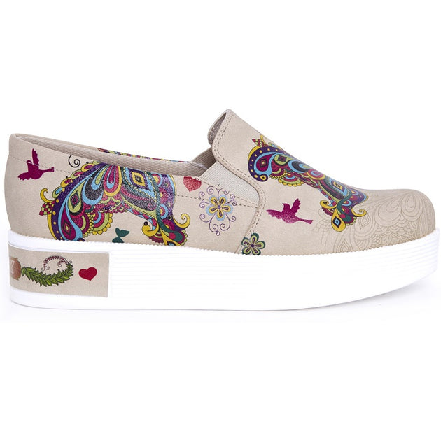 Goby VN4210 Butterfly Women Sneakers Shoes - Goby Shoes UK