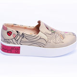 Goby VN4219 Let the Music Play Women Sneakers Shoes - Goby Shoes UK
