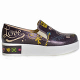 Goby VN4220 Rock Star Women Sneakers Shoes - Goby Shoes UK