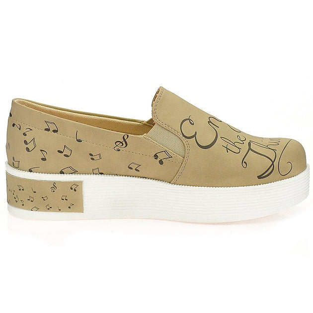 Goby VN4223 Enjoy the Little Things Women Sneakers Shoes - Goby Shoes UK