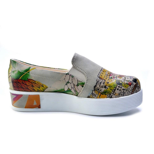 GOBY Slip on Sneakers Shoes VN4235 Women Sneakers Shoes - Goby Shoes UK