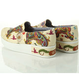 Goby VN4308 Butterfly Women Sneakers Shoes - Goby Shoes UK