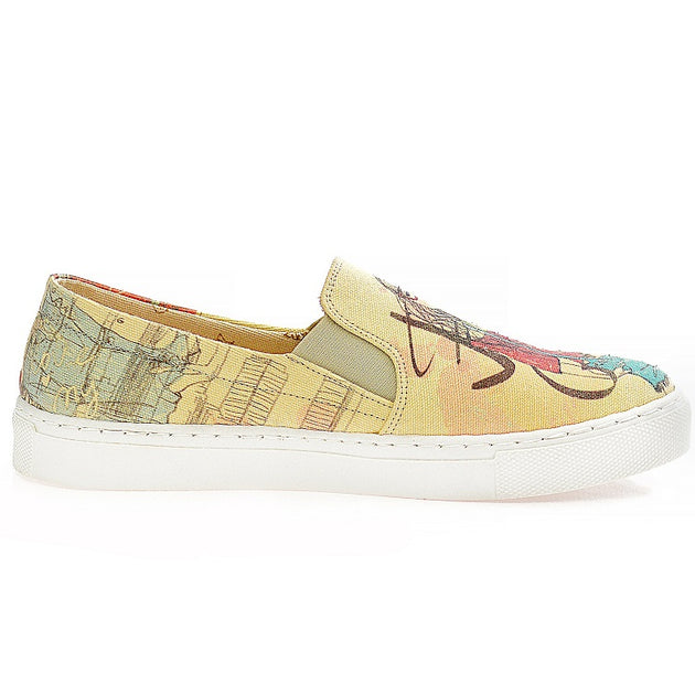 Goby VN4407 Fashion Girl Women Sneakers Shoes - Goby Shoes UK
