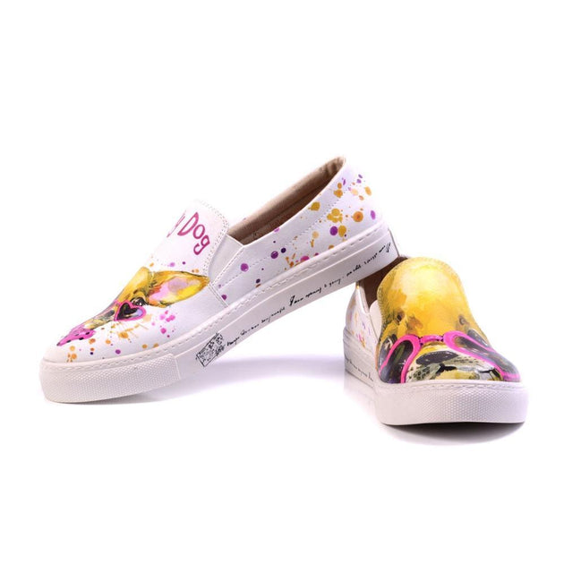 Lucky Dog Slip on Sneakers Shoes VN4928