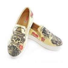 VNY101 Love is Immortal Slip on Sneakers Shoes