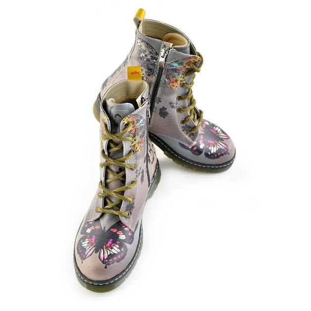 GOBY Long Boots WMRT127 Women Boots Shoes - Goby Shoes UK