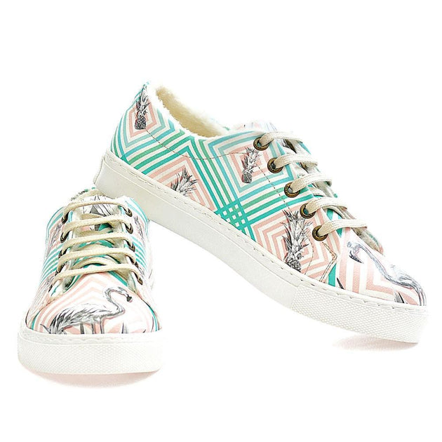 Pineapple Slip on Sneakers Shoes WSPR113