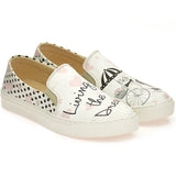 Goby WVN4044 Cute Cat and Girl Women Sneakers Shoes - Goby Shoes UK