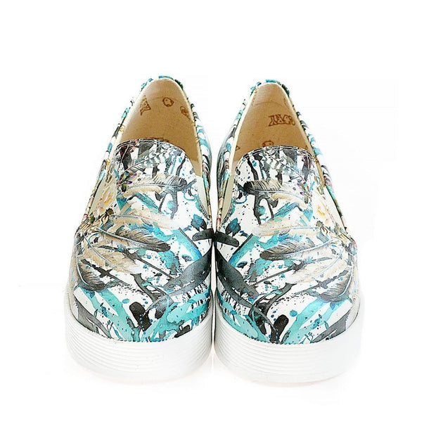 GOBY Slip on Sneakers Shoes WVN4224 Women Sneakers Shoes - Goby Shoes UK