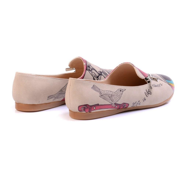 Life is Like a Camera Ballerinas Shoes YAB309