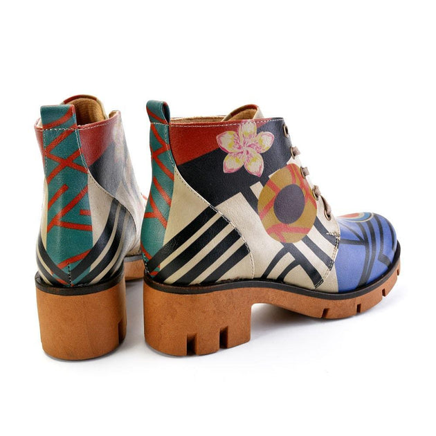 GOBY Ankle Boots YHP102 Women Ankle Boots Shoes - Goby Shoes UK