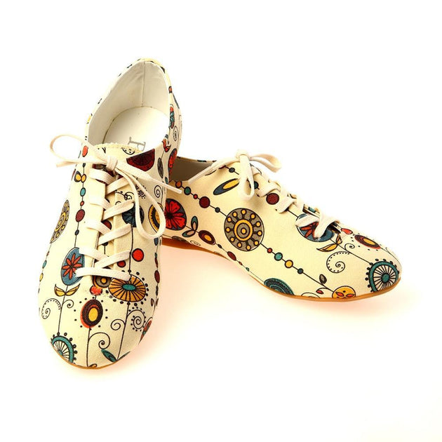 Flowers Ballerinas Shoes SLV038